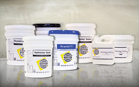 Kryton catalog for concrete sealing